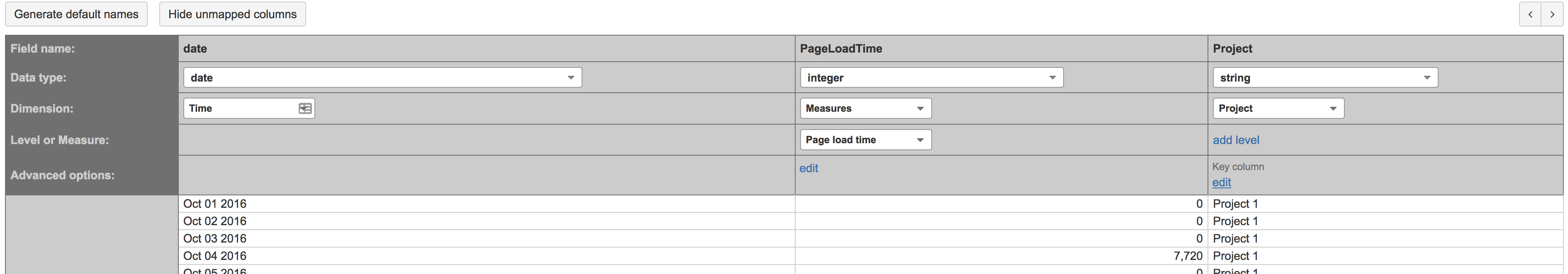 Google Analytics from REST API - Flex.bi Support Center 4.0