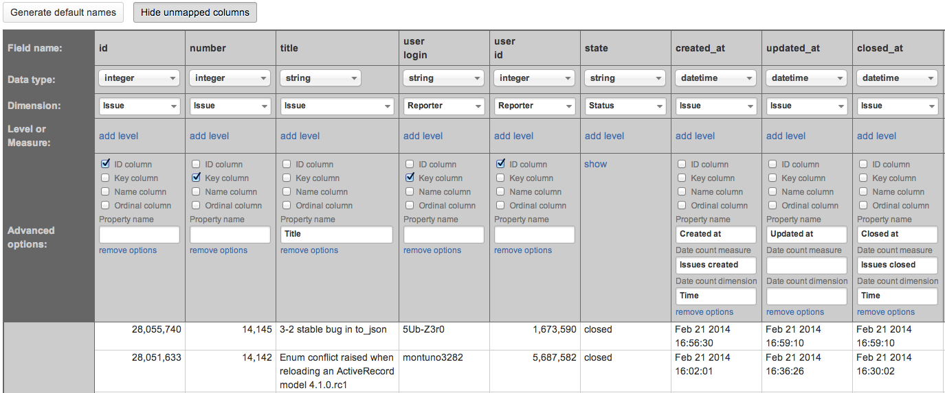Import from REST API - eazyBI