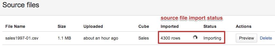 Excel and CSV file upload - eazyBI